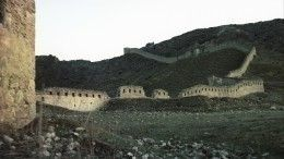 Стена крепости имама Шамиля обрушилась из-за дождей вдагестанском Гунибе