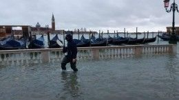 Главная площадь Венеции ушла под воду