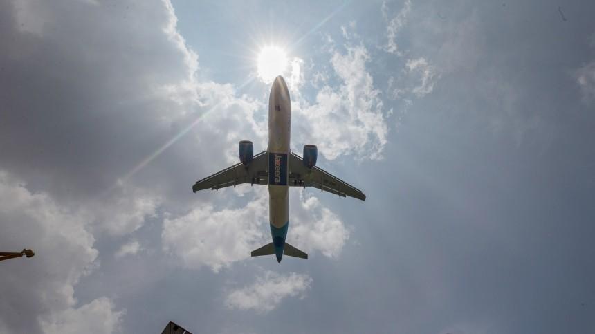 Самолет совершил экстренную посадку вТурции из-за сообщений обомбе