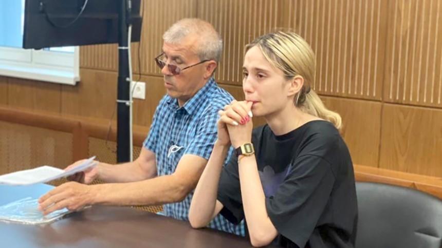 Насмерть сбившая троих детей вМоскве студентка неизвинилась перед ихродителями