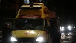 Иномарка влетела вздание проходной МИФИ наКаширском шоссе вМоскве