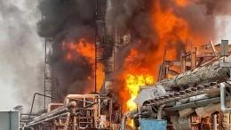 Стала известна предварительная причина взрыва наАмурском ГПЗ