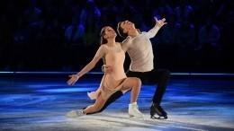Бородина второй раз оказалась надне турнирной таблицы шоу «Ледниковый период»