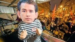 Канцлер Австрии Курц объявил оботставке нафоне коррупционного скандала