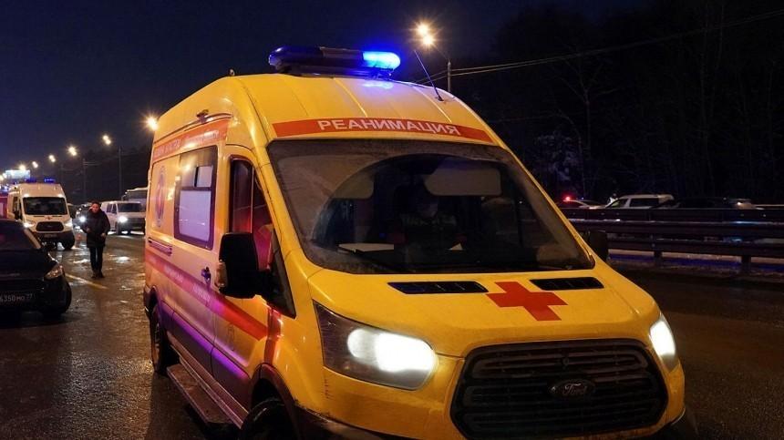 Три человека погибли вДТП вподмосковном Сергиевом Посаде