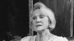 Умерла первая жена Игоря Кваши актриса Светлана Мизери