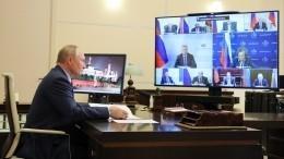 Покашлявший назаседании Совбеза Путин рассказал освоем здоровье