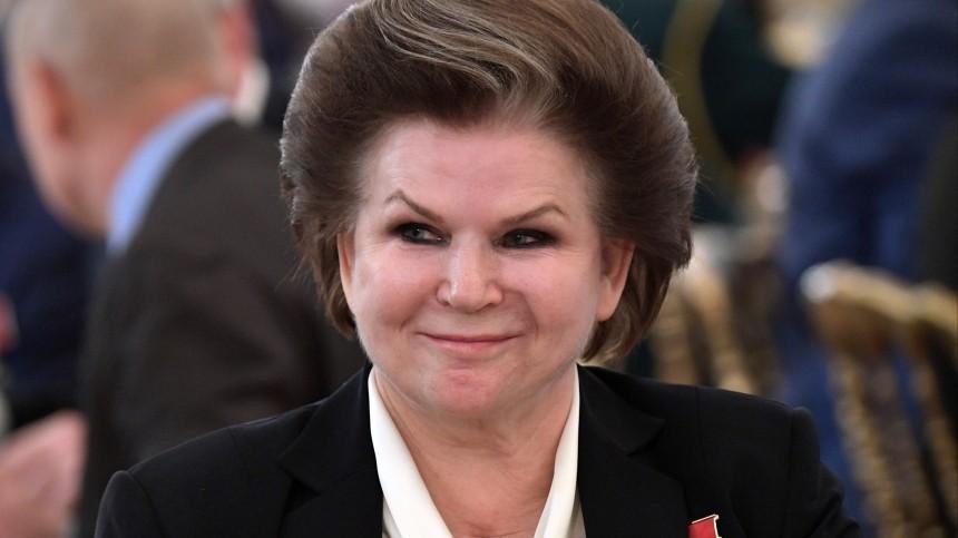 Заседание Госдумы нового созыва открыла первая женщина-космонавт