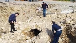 Таинственное подземелье случайно раскрыли рабочие вМахачкале