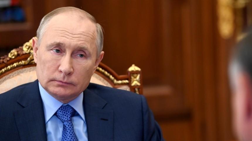 Путин ответил навопрос освоем участии ввыборах 2024 года