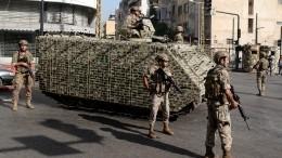 Военные ищут снайперов, обстрелявших демонстрантов встолице Ливана