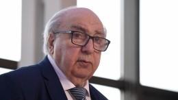 Знаменитый академик Чубарьян празднует 90-летний юбилей