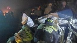 Четыре человека погибли вДТП срейсовым автобусом вДагестане
