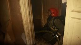 Три человека стали жертвами пожара вмногоквартирном доме вПетербурге