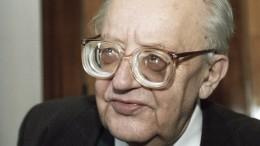 100 лет исполняется содня рождения выдающегося историка Юрия Полякова