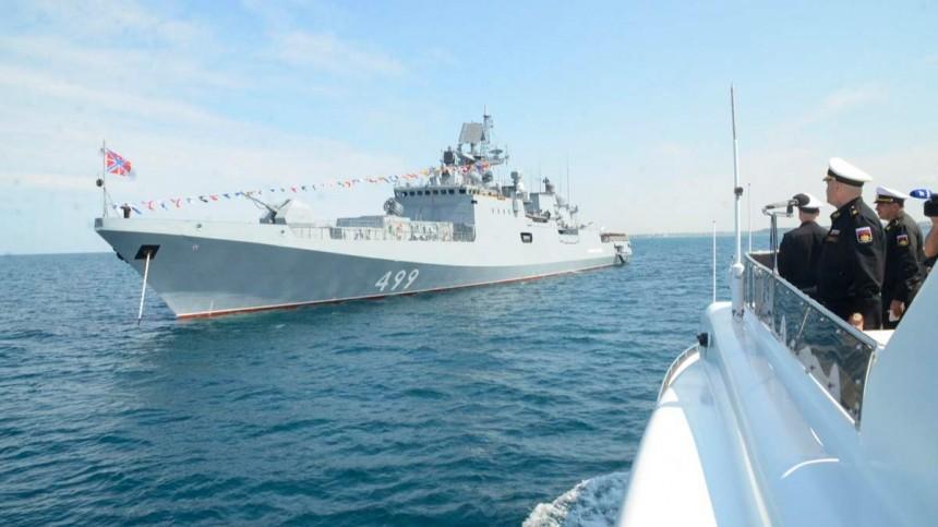 Более 40 кораблей задействовали вучениях Черноморского флота вКрыму