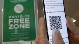 ВПетербурге вводят QR-коды для посещения общественных мероприятий с1ноября