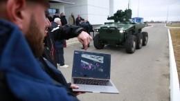 ВРоссии прошли испытания автономных ударных роботов «Маркер»