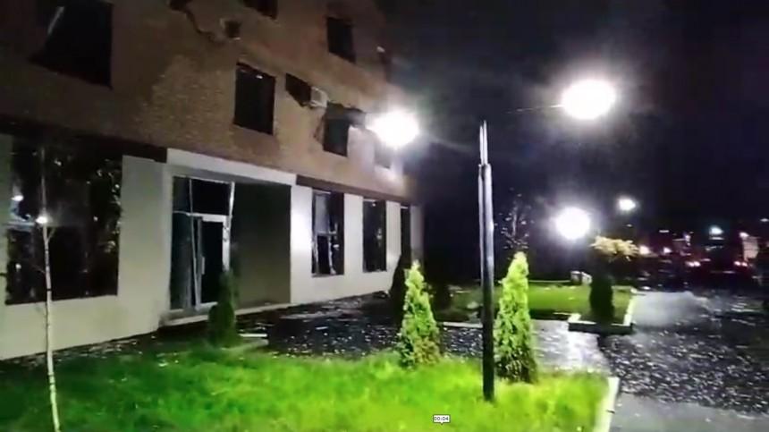 Спасатели эвакуировали людей после взрыва вновостройке воВладикавказе