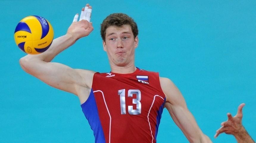Российский волейболист Мусэрский дисквалифицирован задопинг