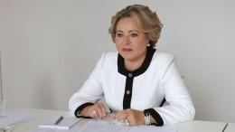 Невоспитанное хамье: Политолог оценил уход делегаций вовремя речи Матвиенко