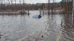Аквамена вам вхату: пригороды Петербурга ушли под воду