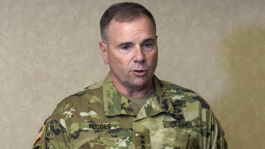 Генерал США Ходжес заявил оразработке плана позахвату влияния вЧерном море