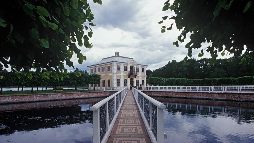Прогулки поПетербургу. Исторические сады, часть1